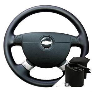 Оплетка на руль Шевроле Авео I - фото