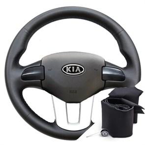 {{photo.Alt || photo.Description || 'Оплетка на резиновый руль для Kia Sportage 3 (2010-2016)'}}
