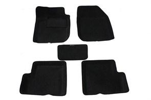 Ворсовые коврики 3D для Рено Логан 1 - фото