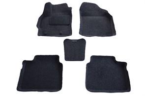 Ворсовые коврики 3D для Тойота Королла E170 - фото
