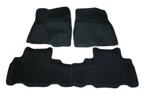 3D ворсовые коврики Toyota Highlander III - фото