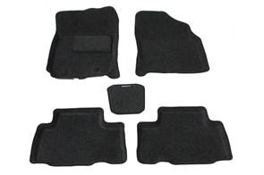 Ворсовые коврики 3D для Тойота Рав 4 III - фото