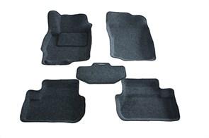 Ворсовые коврики 3D для Мицубиси Лансер 10 - фото