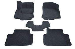 Ворсовые коврики 3D для Фольксваген Гольф 7 - фото