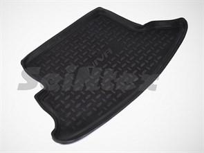 резиновый коврик в багажник для Шевроле Нива - фото