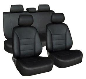 фото черные чехлы хендай солярис 2 седан