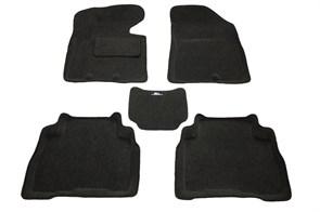 Ворсовые коврики 3D для Киа Соренто - фото