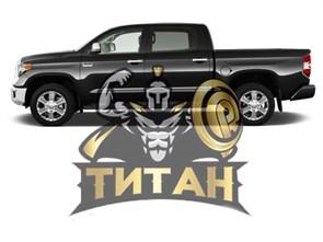 Покраска автомобиля Титаном кузов большой джип