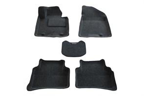 Ворсовые коврики 3D для Киа Спортейдж 4 - фото