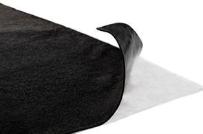 Самоклеющийся карпет черный