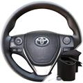 Оплетка на руле Тойота Королла с 2012 г.в. - фото