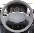Оплетка на руль из натуральной кожи Hyundai Accent без подушки безопасности - фото 10902