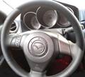 Оплетка на руль из натуральной кожи Mazda 3-I (BK) 2003-2009 - фото 10917