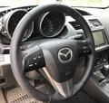 Оплетка на руль из натуральной кожи Mazda 3-II (BL) 2009-2013 - фото 10924