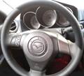 Оплетка на руль из натуральной кожи Mazda 6-I (GG,GY) 2002-2007 - фото 10932
