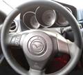 Оплетка на руль из натуральной кожи Mazda 2-I (DY) 2003-2007 - фото 10935