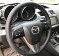 Оплетка на руль из натуральной кожи Mazda 5 II (CW) 2010-2015 - фото 10948