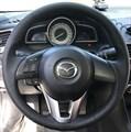 Оплетка на руль из натуральной кожи Mazda CX-3 2015-2018 - фото 10952