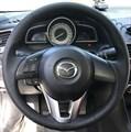 Оплетка на руль из натуральной кожи Mazda CX-5 2011-2017 - фото 10953