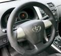 Оплетка на руль из натуральной кожи Toyota Corolla X E140, E150 Рестайлинг (2010-2013) - фото 11029