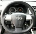 Оплетка на руль из натуральной кожи Toyota Corolla X (E140, E150) Рестайлинг 2010-2013 - фото 11030