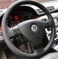 Оплетка на руль из натуральной кожи Volkswagen Golf V 2003-2009 - фото 11045