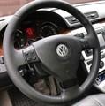 Оплетка на руль из натуральной кожи Volkswagen Jetta V (2005-2008) - фото 11053