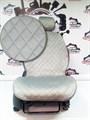 серые накидки CALIFORNIA на 2 передних сидения - фото