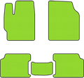 EVA коврики для Lada (Лада) зеленый