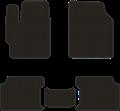 EVA коврики для Volkswagen черные