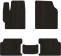 EVA коврики для Ford черные