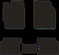 EVA коврики для Toyota Corolla X (E140, E150) черные