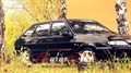 Боковые зеркала на ВАЗ 2114-2115 черные с повоторителем