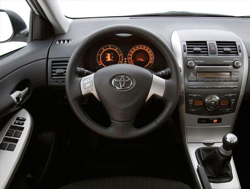 Заглушка Toyota Corolla мультируль